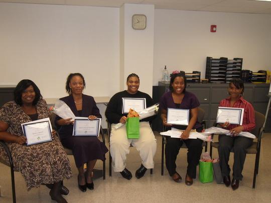 Photo of recent WEN graduates
