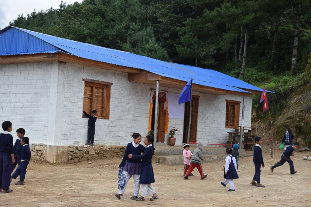 Newly built safe school
