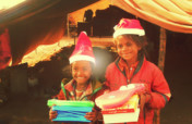 Diwali;-  Joy of Giving to slum kids in india
