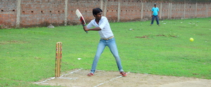 and yes I love playing cricket too!