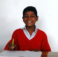 Binod goes to School