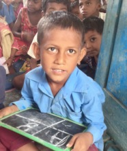 Student at Village school