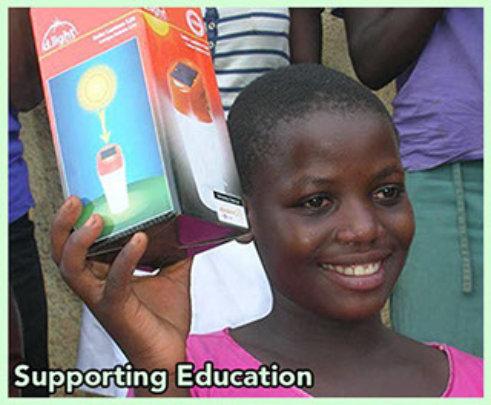 Solar lights to enable 50 children read books