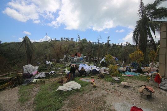 We are addressing needs in southwestern Haiti