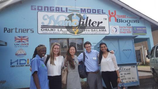 American students visiting Tanzania - 2018