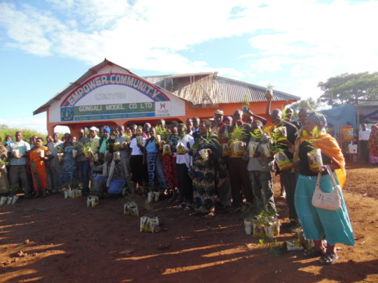 TAHUDE - Gongali Biogas Project and trees planting