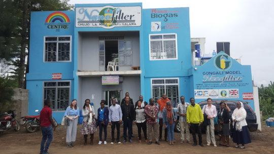GlobalGiving Team Visit TAHUDE in Arusha, Tanzania