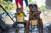Psychological care for 200 children from Ecuador