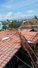 Fallen Radio Towers after Hurricane Matthew