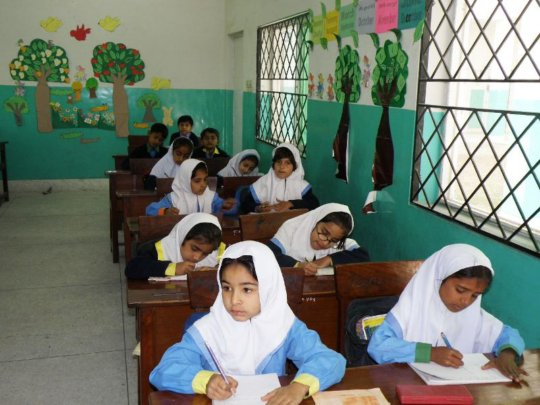 Free of Cost 1 Year Education to 217 Girl Studnets