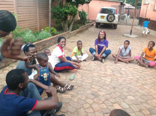 Makomborero hosts Danai Children