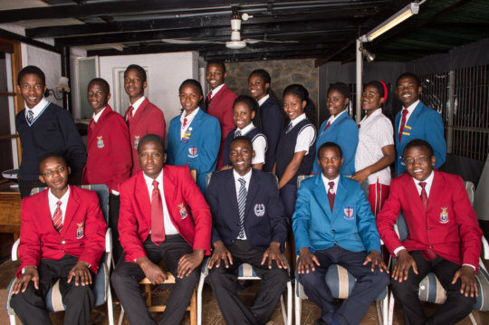 2017 Lower and Upper Sixth Internal students