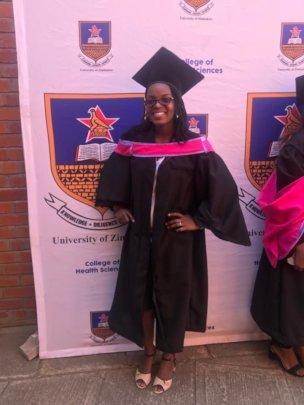 Dr Lesleen graduation