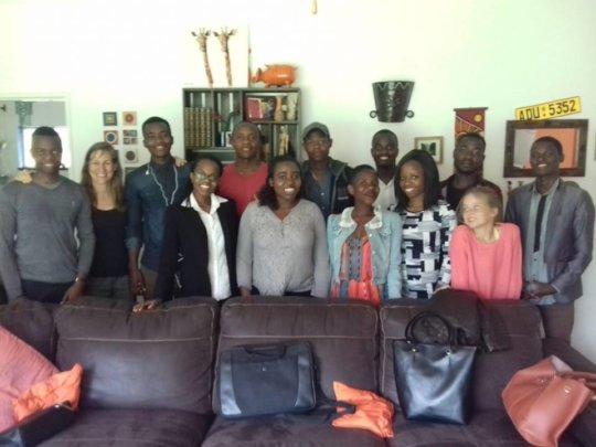 Makomborero University grant students