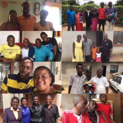 Home visits 2016 - humbling and inspiring families