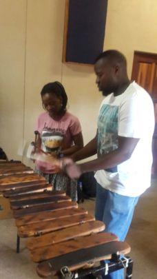 Marimba lessons