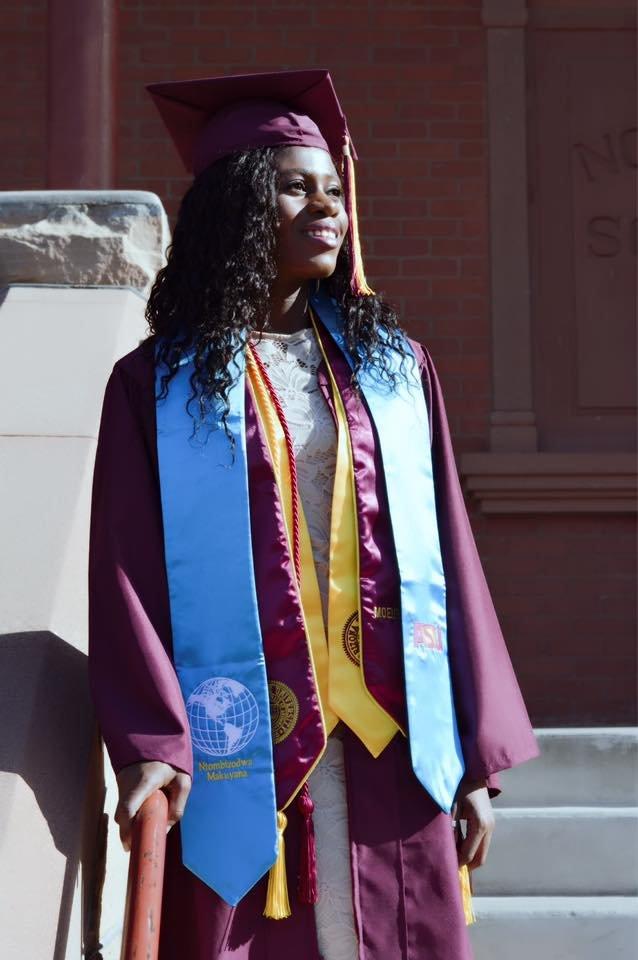 Ntombi graduation