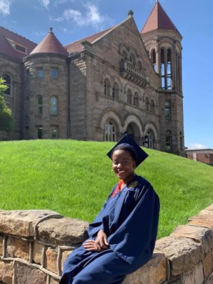 Pamela graduation