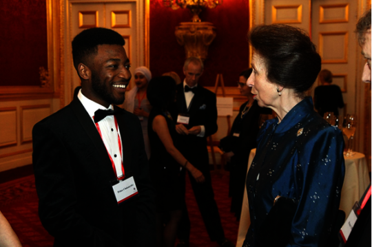 Prince and Her Royal Highness Princess Anne