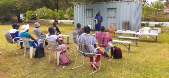 Relaunch of Mobile Science Lab sessions.