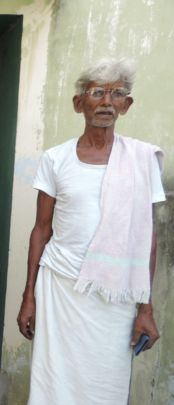 Beneficiary with spectacles