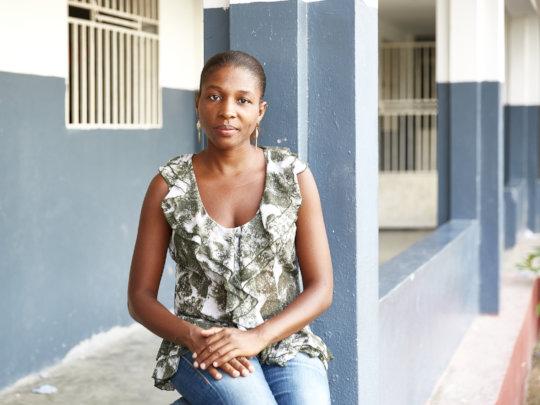Community leader, Darline, leader of GEM