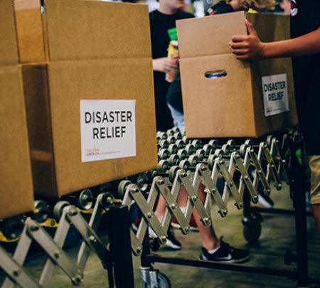 Provide Hurricane Matthew Emergency Food Supply