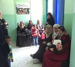 Beautiful Moms at new Birthing Center Ein Al Beida
