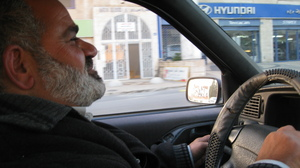 Mayor Haj Sami, a great driver!