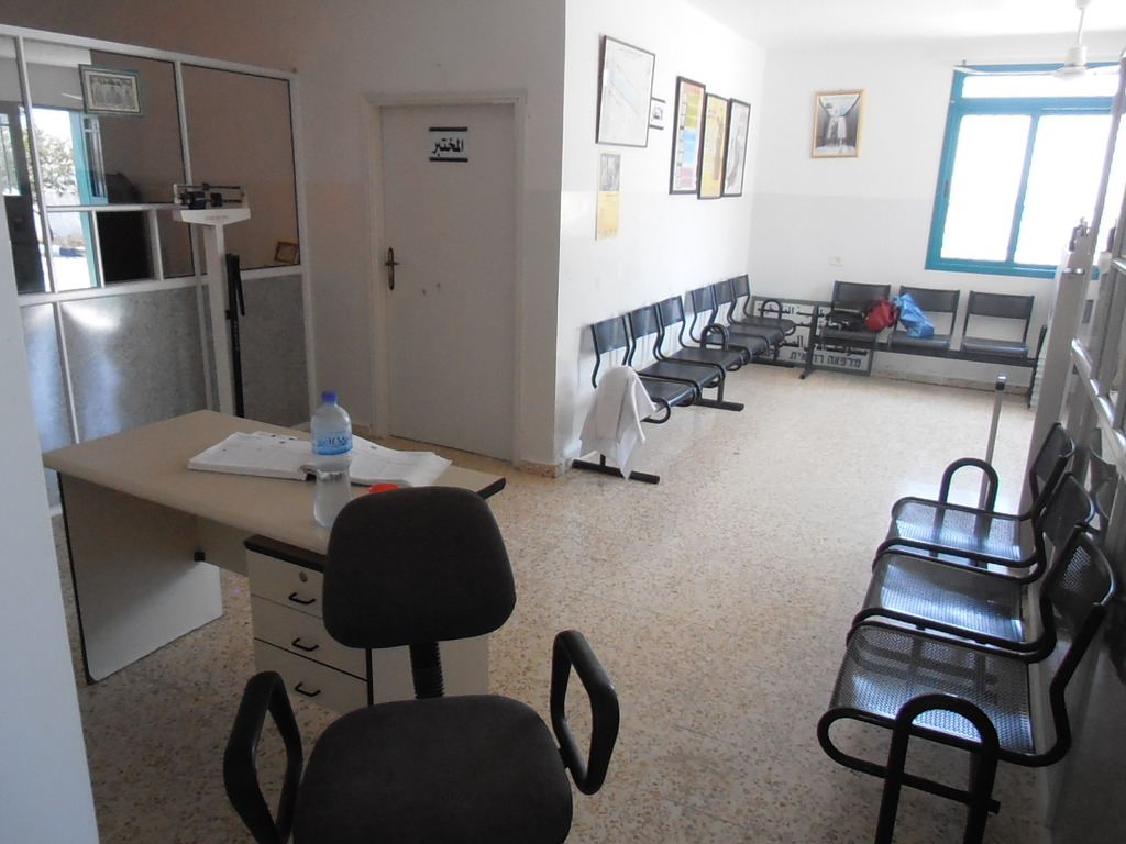 Center area and Reception area