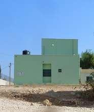 Side view of new clinic in Ein El Beida