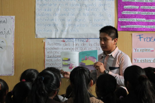 Literacy for first class of 50 Guatemalan students