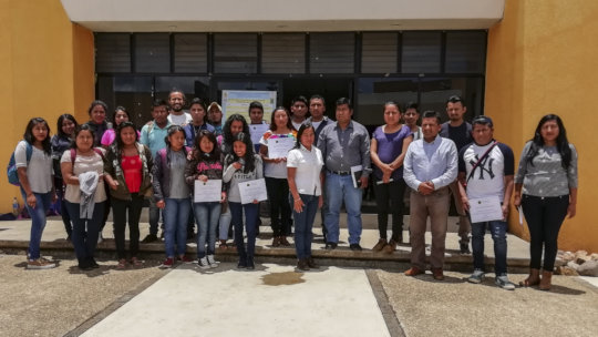 Students of the Intercultural University