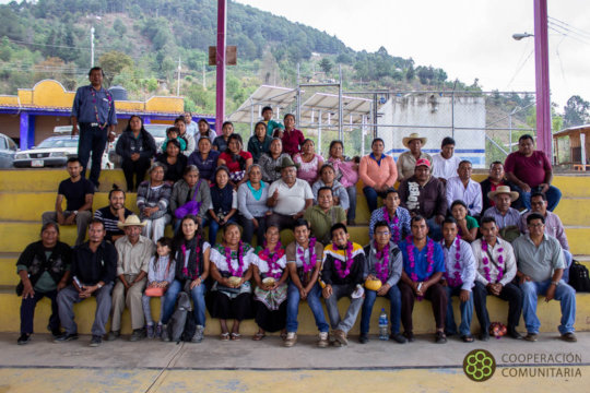 Guerrero and Chiapas communities sharing knowledge
