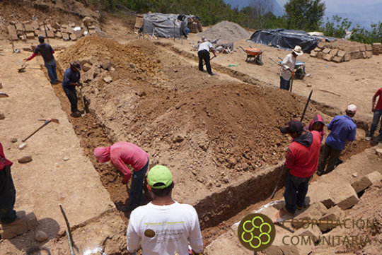 Beginning to build the Traditional Wisdom Center