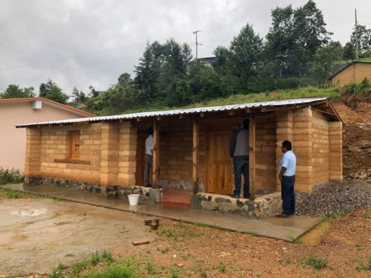 Indigenous education center finished in La Cienega