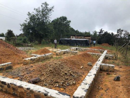 Foundations of education center in Ojo de Agua