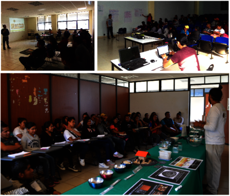 Workshops at Intercultural University of Guerrero