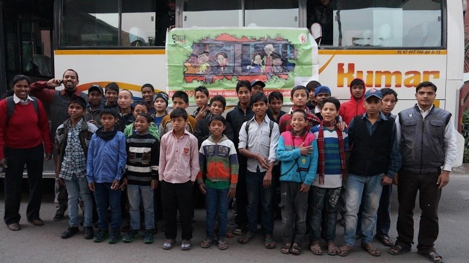 Rescuing Nepal's Lost Children