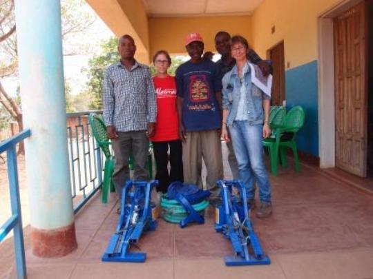 Pedal pumps for Tiyende Pamodzi Group