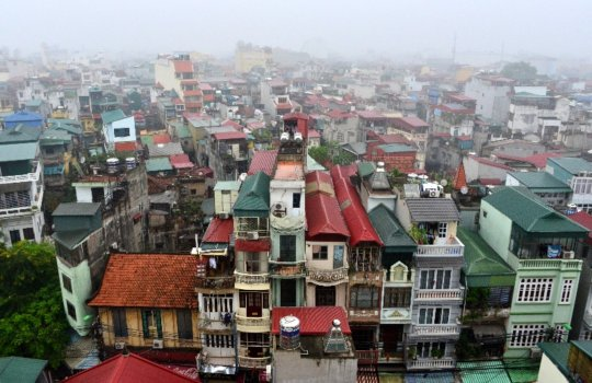 Hanoi's picturesque rooftops