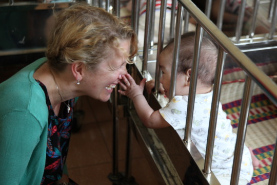 A site visit to an orphanage
