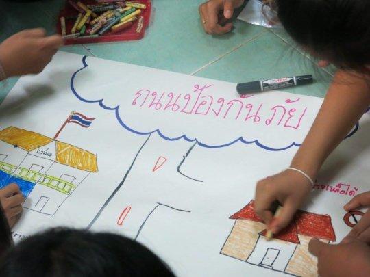 'Safe Road' activity