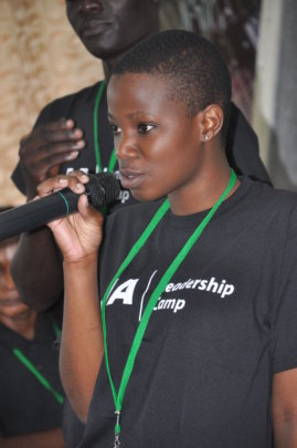 Empower Girls in a Leadership Camp in Uganda