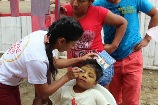Face painting, GDD 2016.