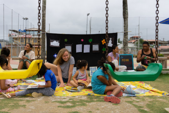 Reading in Canoa