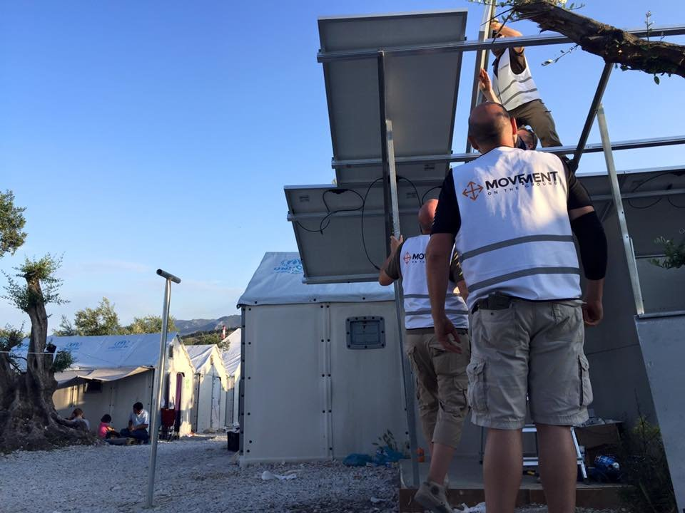 Give solar power to refugees on Lesvos