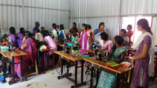 Provide tailoring training to 60 women to earn