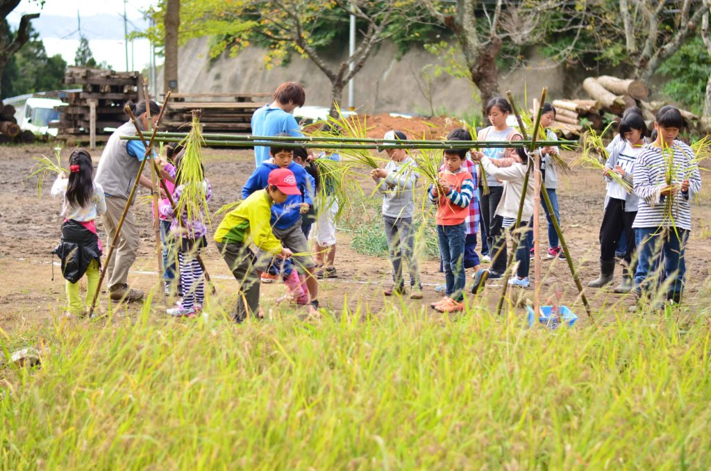 Provide education tour for children in Kumamoto