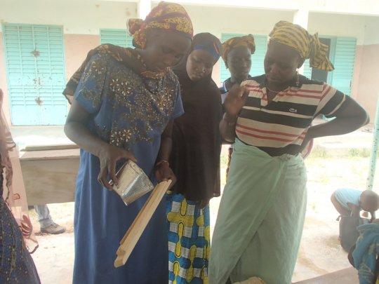 Training of women in Sissa